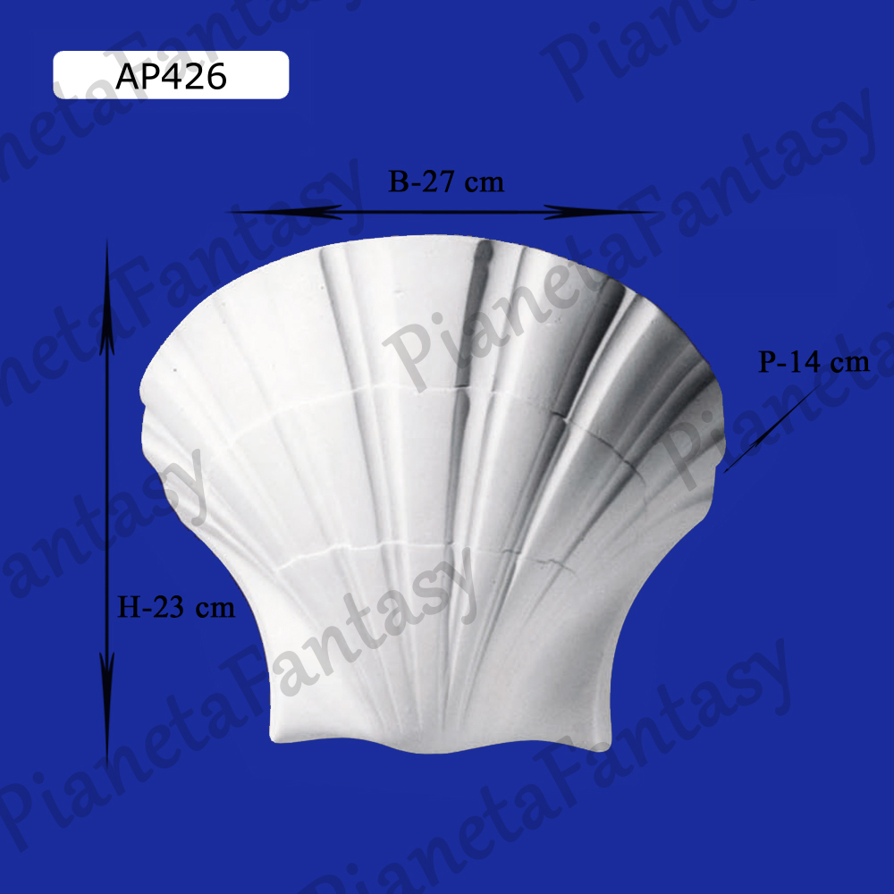 Applique da parete in gesso ceramico art ap426 - Applique in gesso da parete ...
