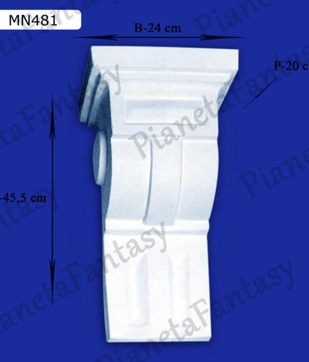 reggimensola-in-gesso-ceramico-art-mn481