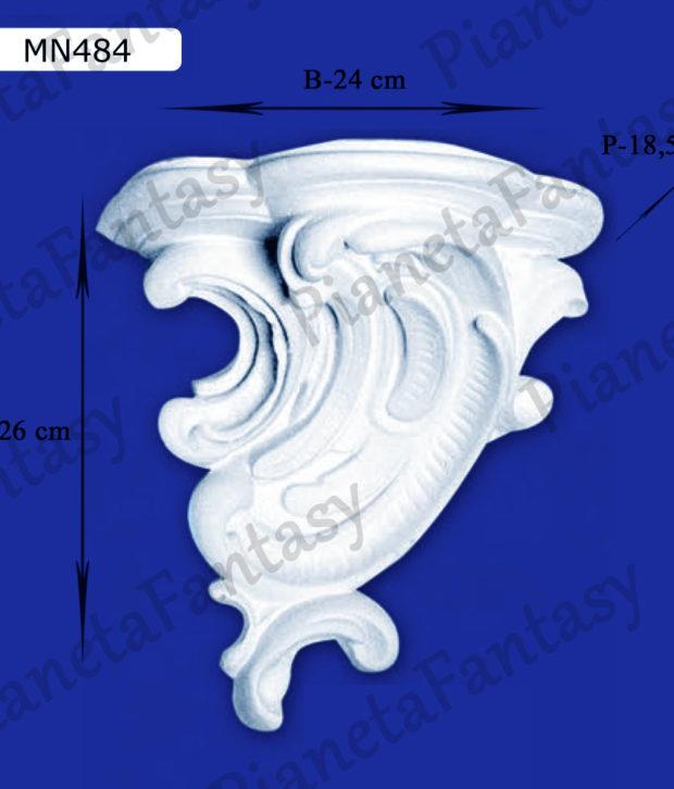 reggimensola-in-gesso-ceramico-art-mn484