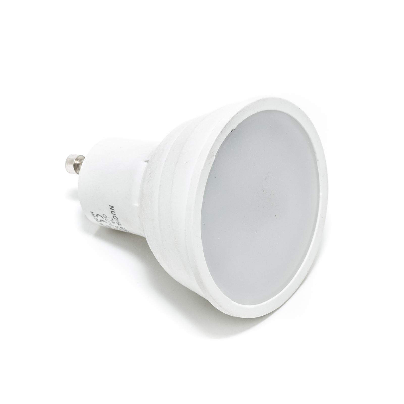 Lampada Led Faretto Gu10.Lampadina Led 5w Gu10 V Tac