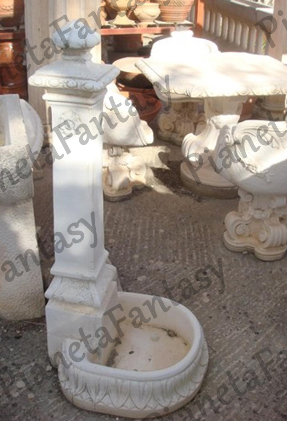 Fontana art 0336 in cemento no pietra arredo giardini e ville for Arredo ville e giardini