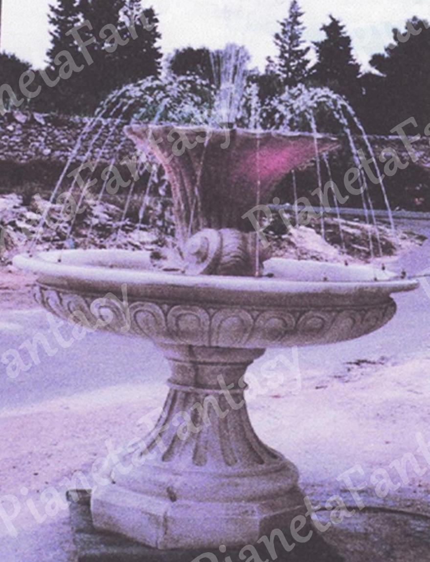 Fontana art 0387 in cemento no pietra arredo giardini e ville for Arredo ville e giardini